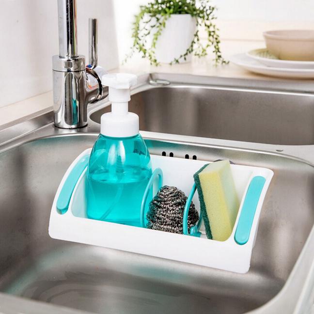 Средства для мытья посуды храните на кухне