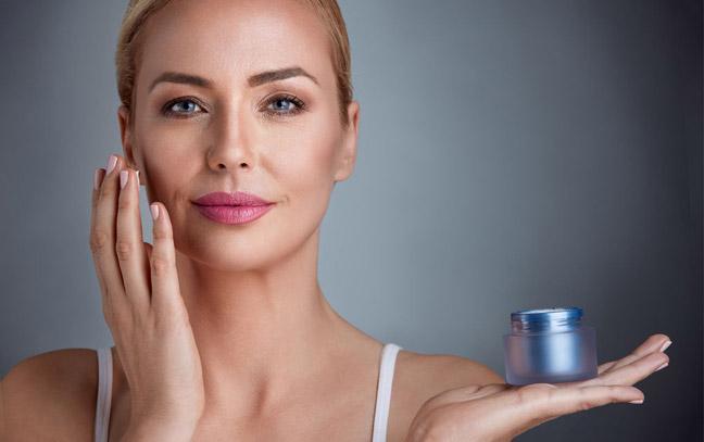 Наличие хорошего крема для кожи