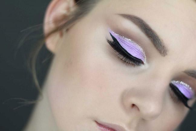 Лавандово – фиолетовые оттенки