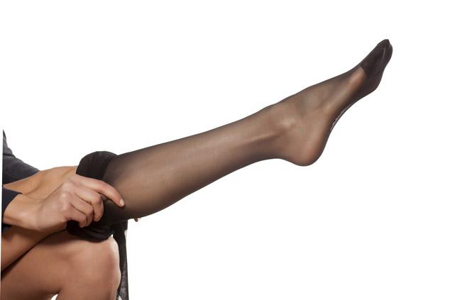 натягивайте на ногу