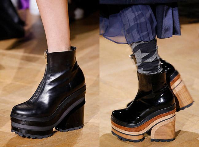 Обувь на платформе - тренд 2019/2020
