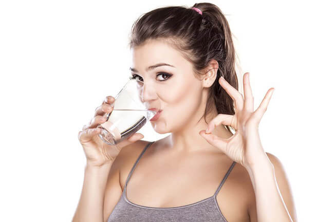 Хочешь есть – выпей воды