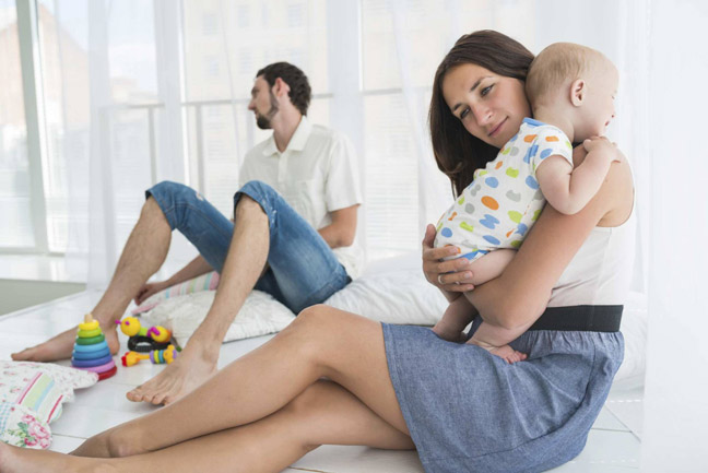 отношения меняются после рождения ребёнка