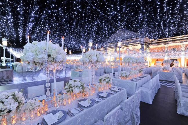 свадьба в Ресторане в зимнем стиле