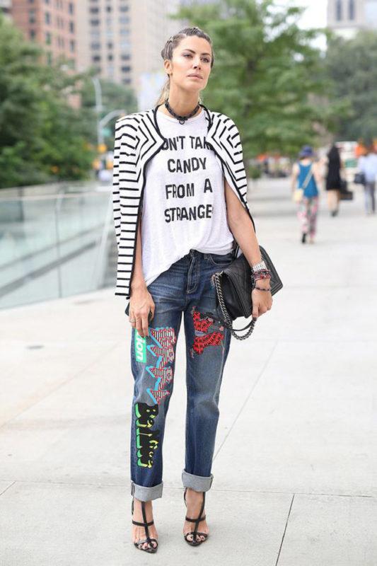 базовые джинсы вам уже надоели