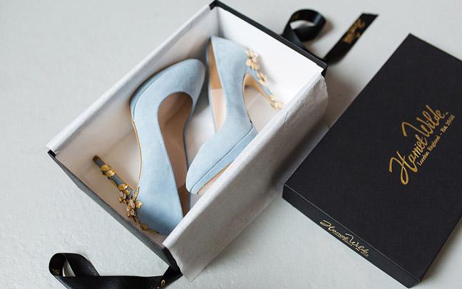 Идея хранения обуви - коробки от обуви