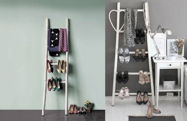 Лестница для хранения обуви