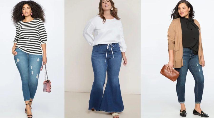 джинсы для девушек с пышными формами