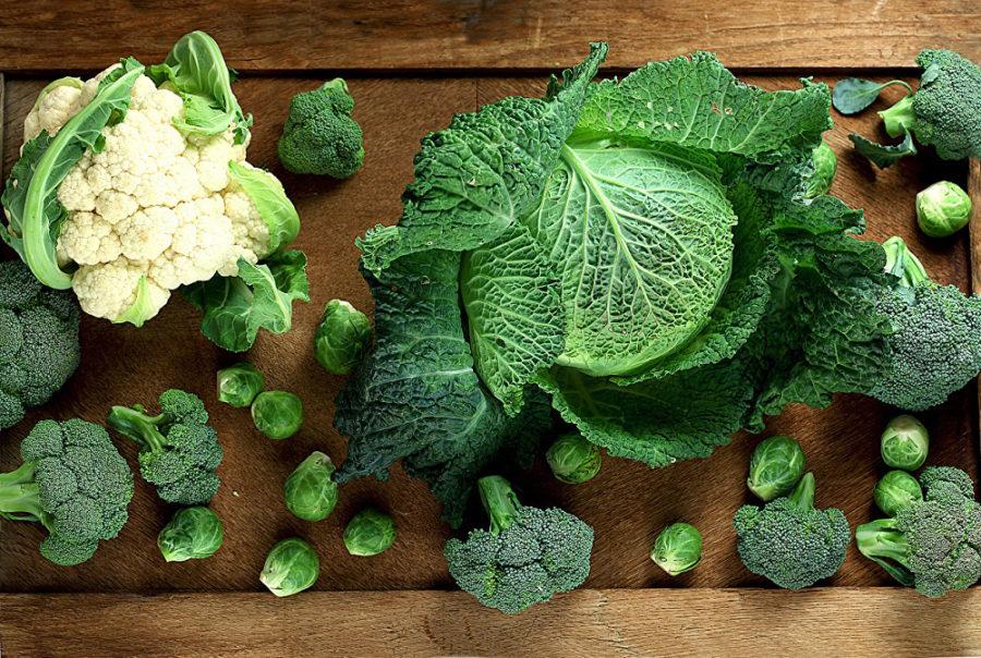 Маска для пяток с капустным листом