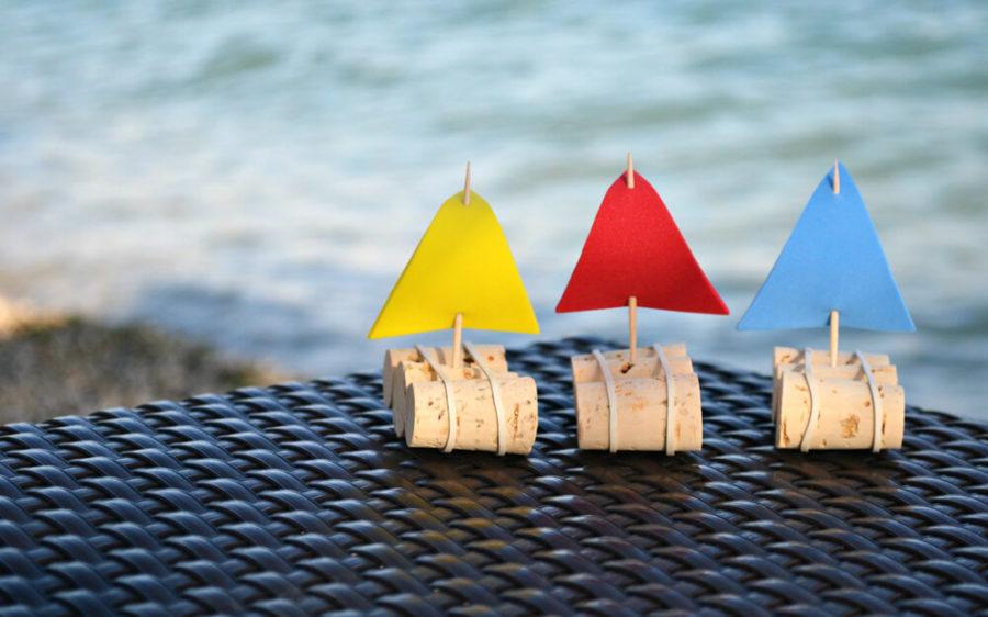 делайте корабли и запускайте в тазу
