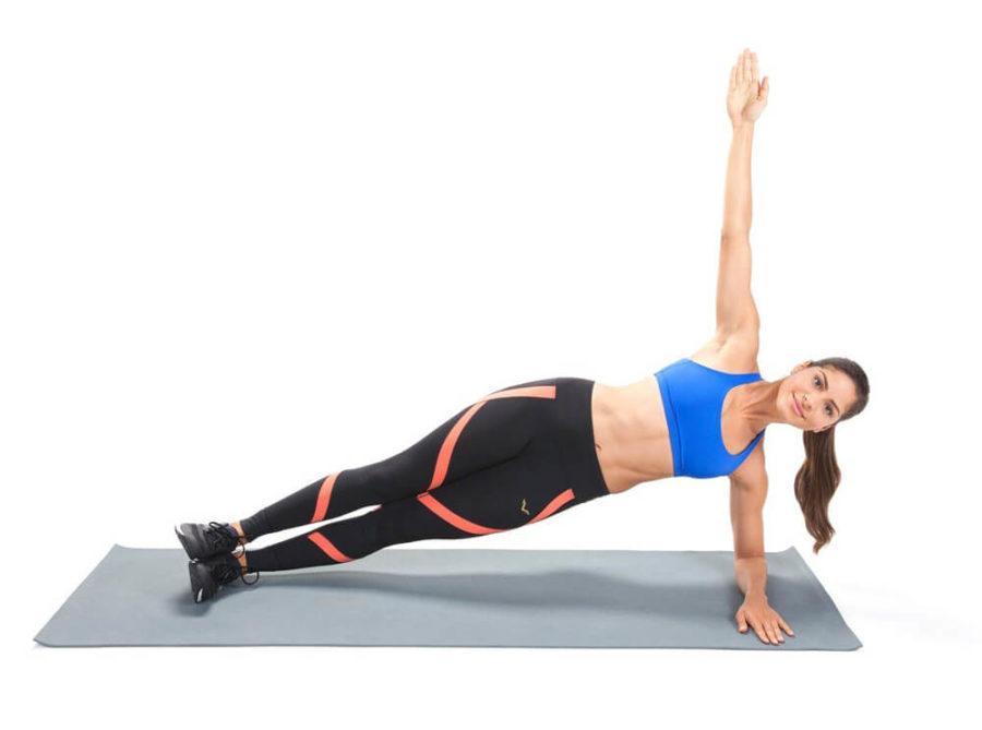 Упражнение для талии
