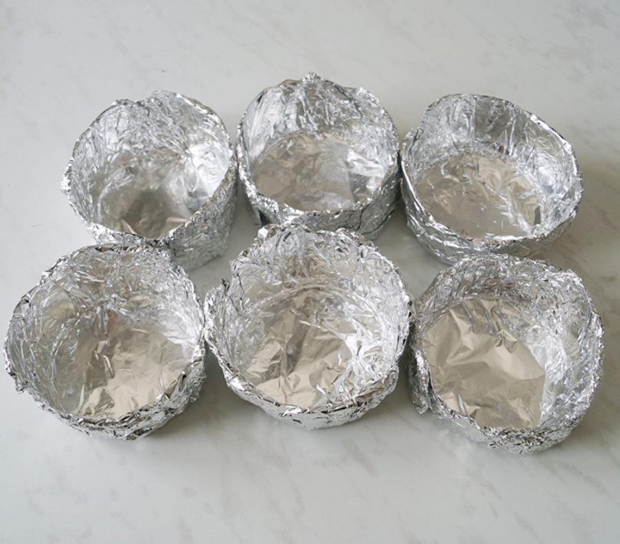 Фольга посуда в походе