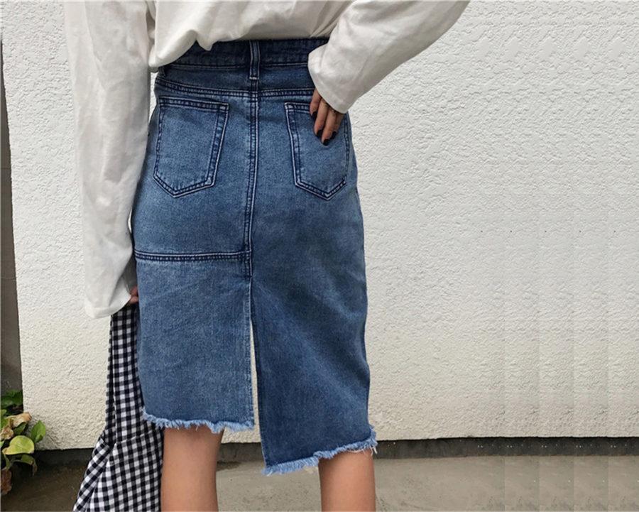 Джинсовая юбка удивительно удобная и очень стильная
