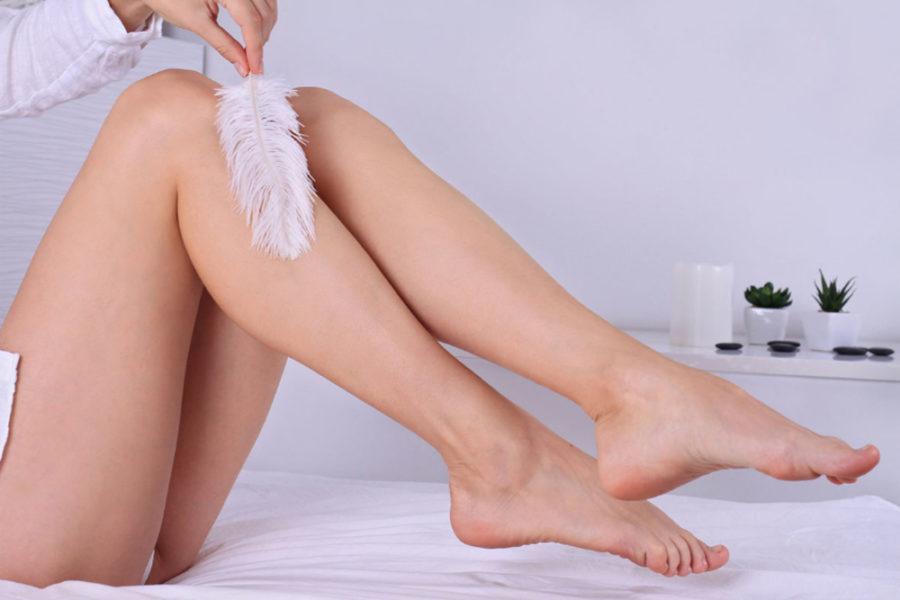 Применять средства эпиляции лучше на не загорелой коже