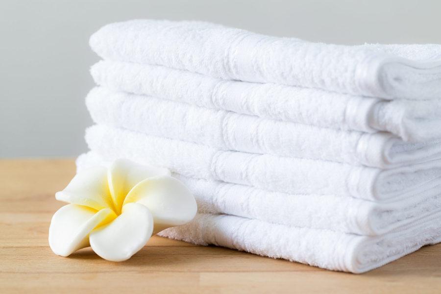 отстирать банное полотенце,