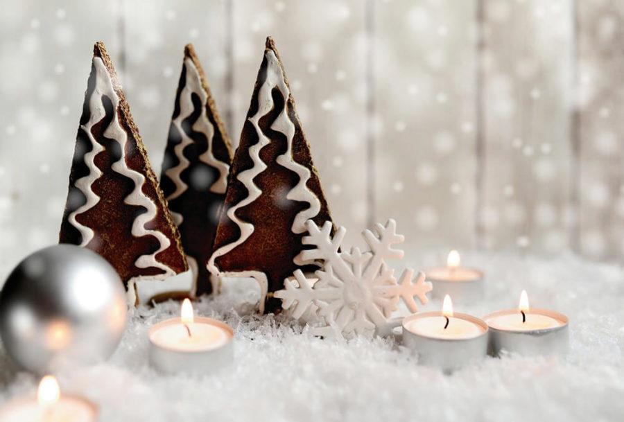 Свечи и подсвечники в подарок на Новый год