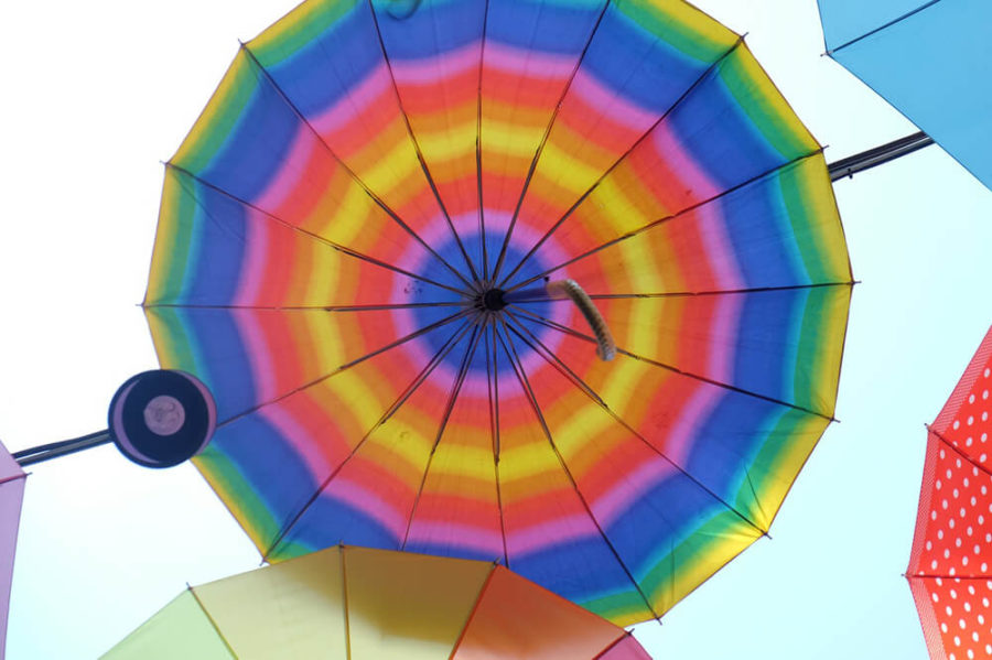 Зонт в подарок на 8 марта