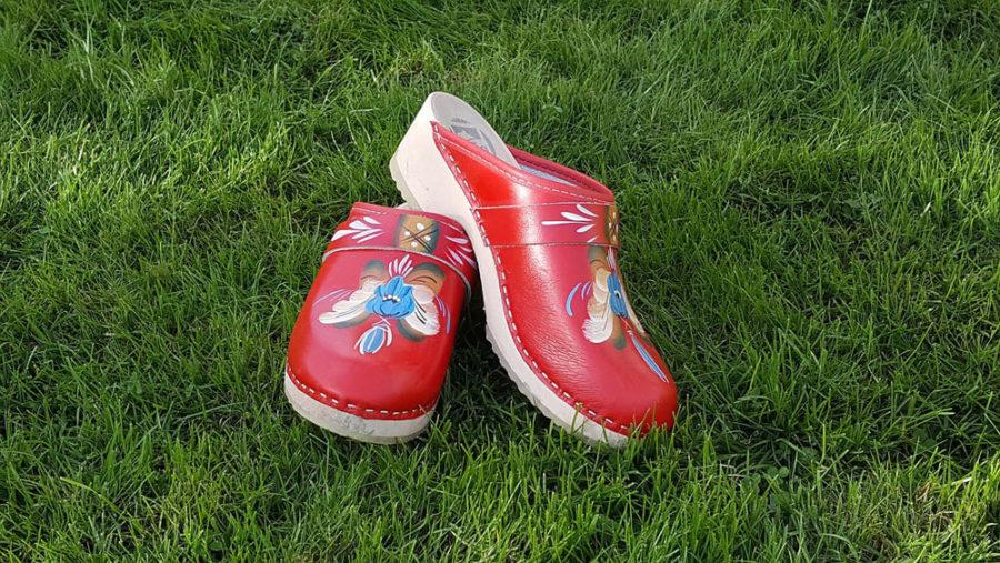Обувь с принтом в тренде